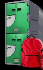 School Locker – 2 Doors